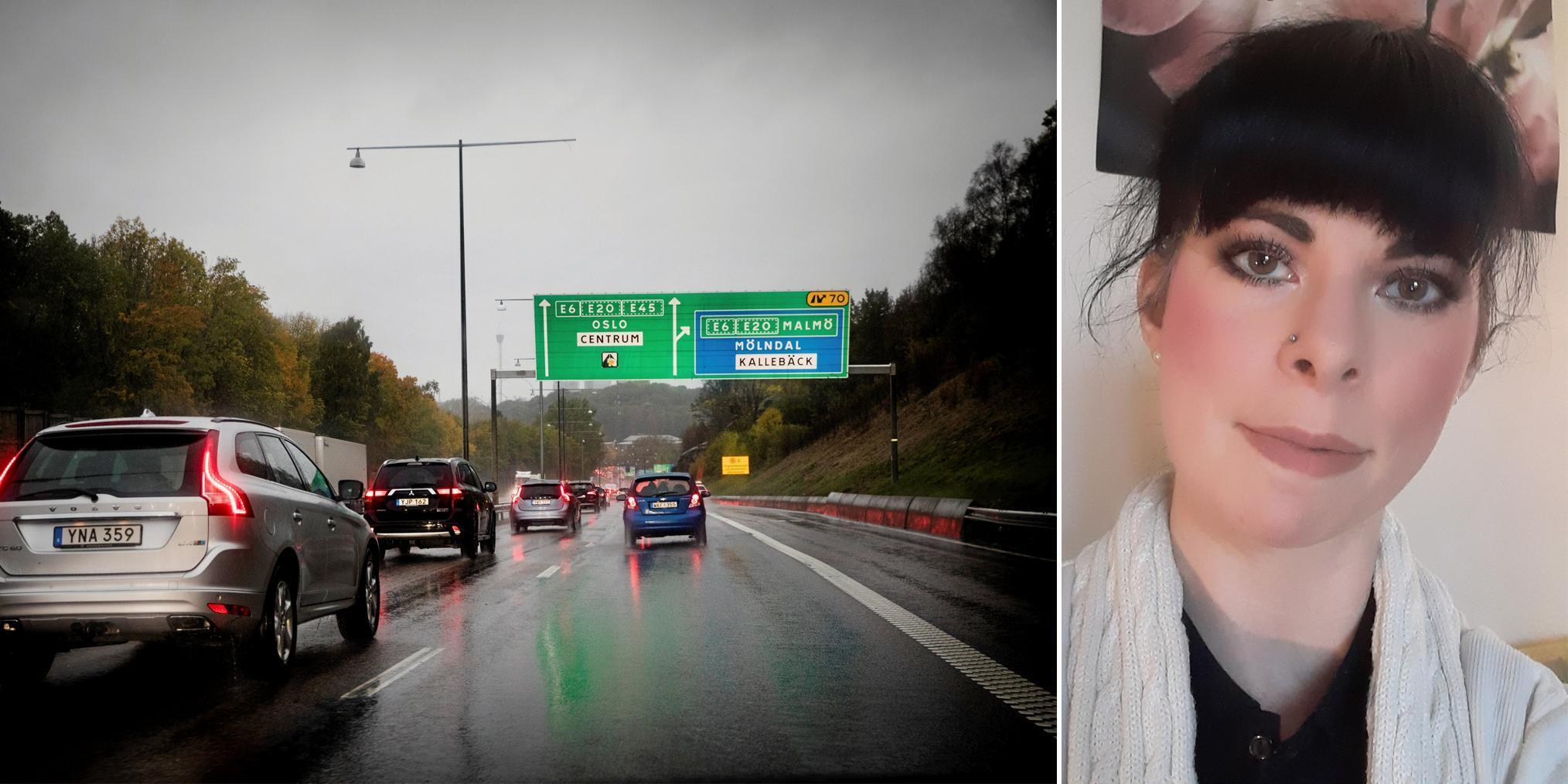 Larmet: Falska poliser slog till på riksväg 40