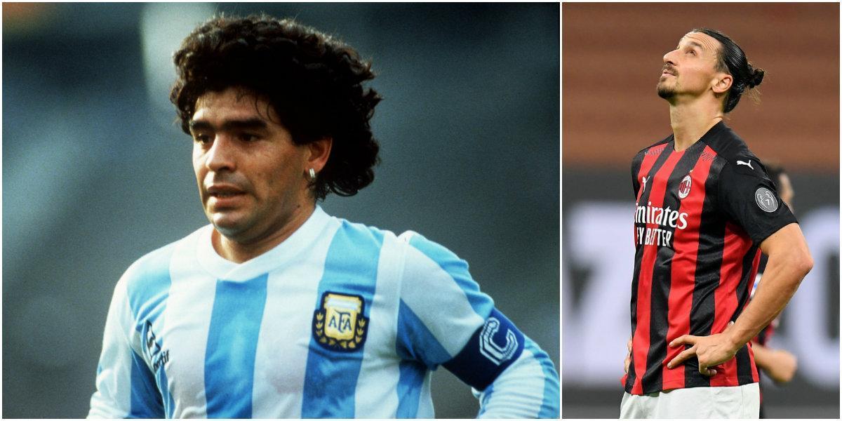 """Zlatans ord om Maradonas bortgång """"Jag är så ledsen"""""""