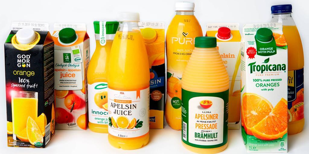 socker i apelsinjuice