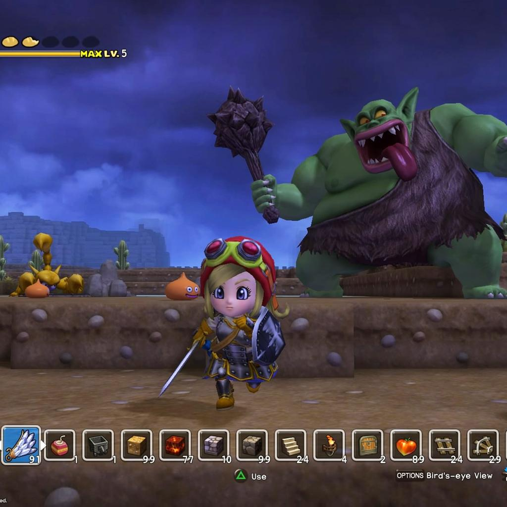 Dragon Quest Builders.
