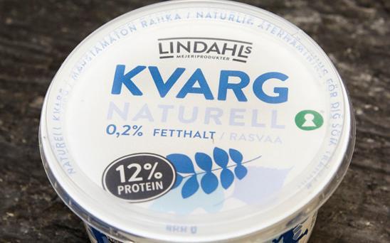 kvarg yoghurt skillnad