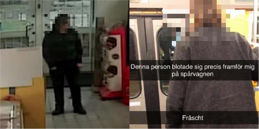Visade könet på polisstationen – för att bli gripen