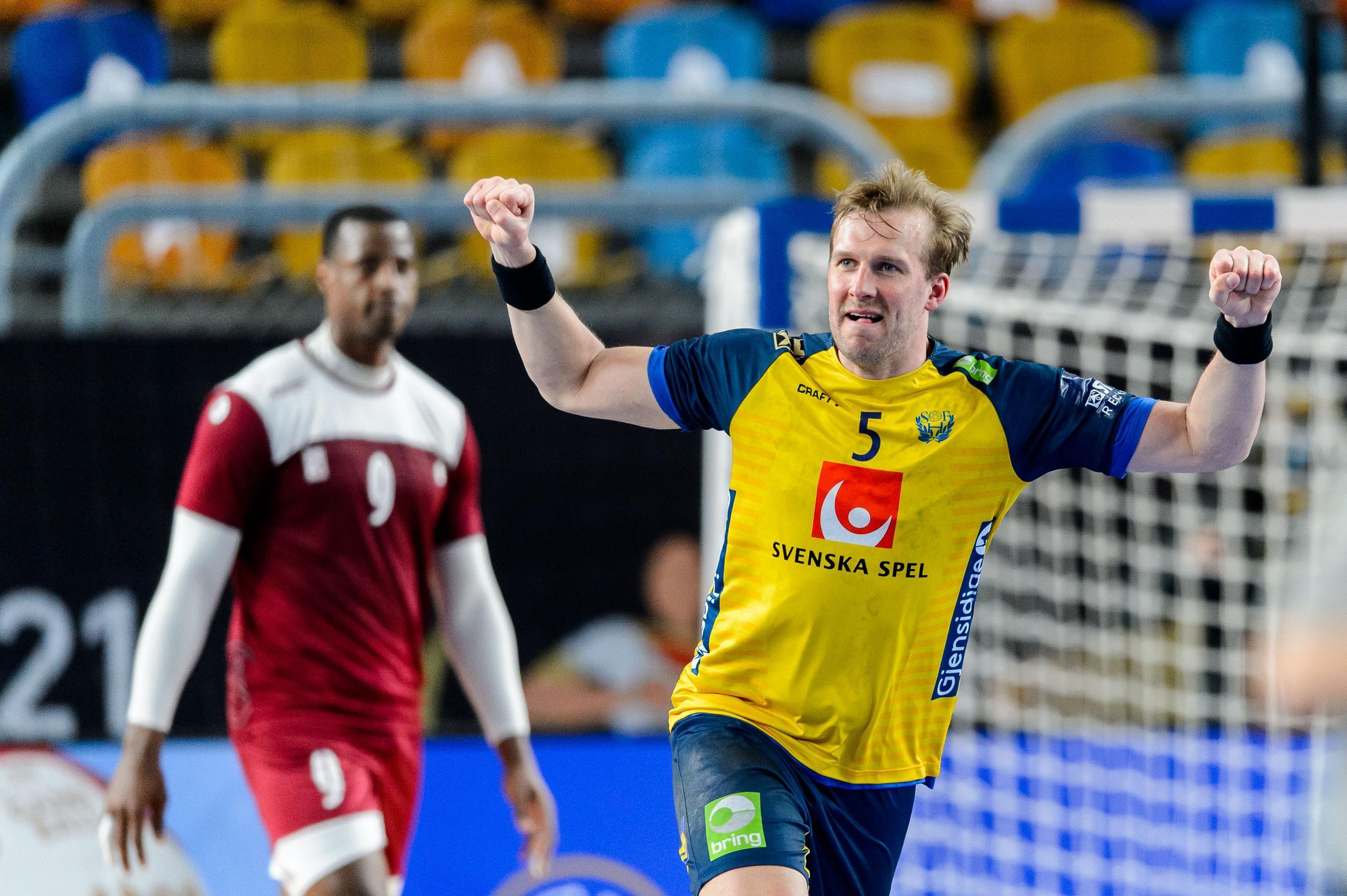 Sverige klart för semifinal efter kross mot Qatar