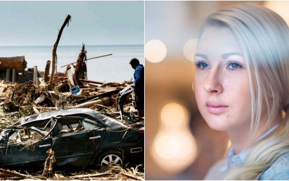 c4ff32b55527 Frida Ström förlorade sin lillebror Jonathan i tsunamin för exakt tolv år  sedan. Bilder: Arkiv och Anna Edlund
