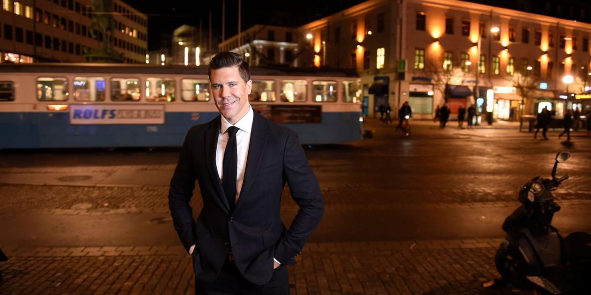 Fredrik Eklund vill slå rekord i Göteborg