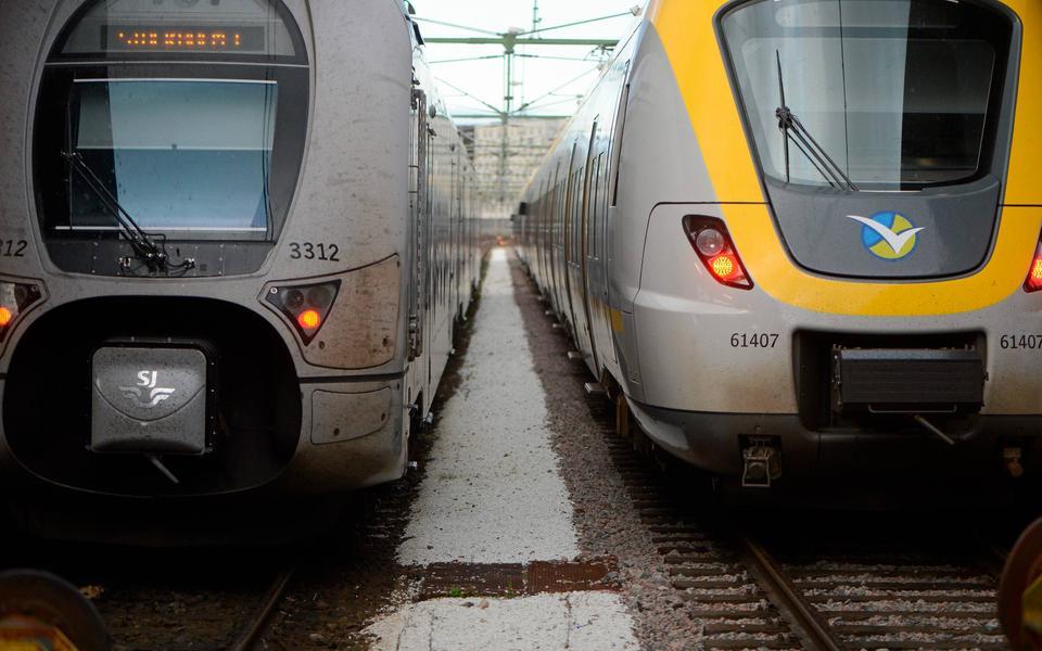 tåg mellan göteborg och lund