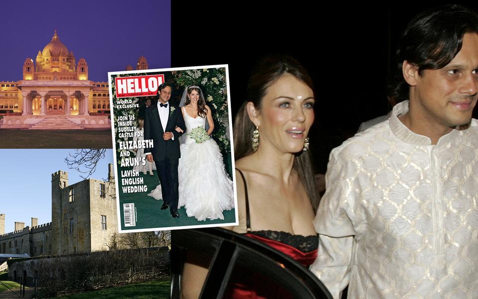 12c892248d96 2,5 miljoner dollar, 22,2 miljoner svenska, fick paret betala när de gifte  sig, men då var det även dubbelt firande med två ceremonier.