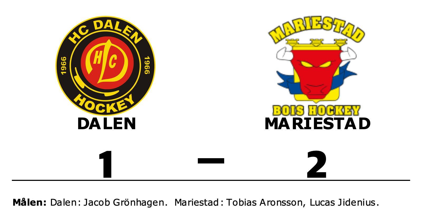 Mariestad vann och avgjorde matchserien