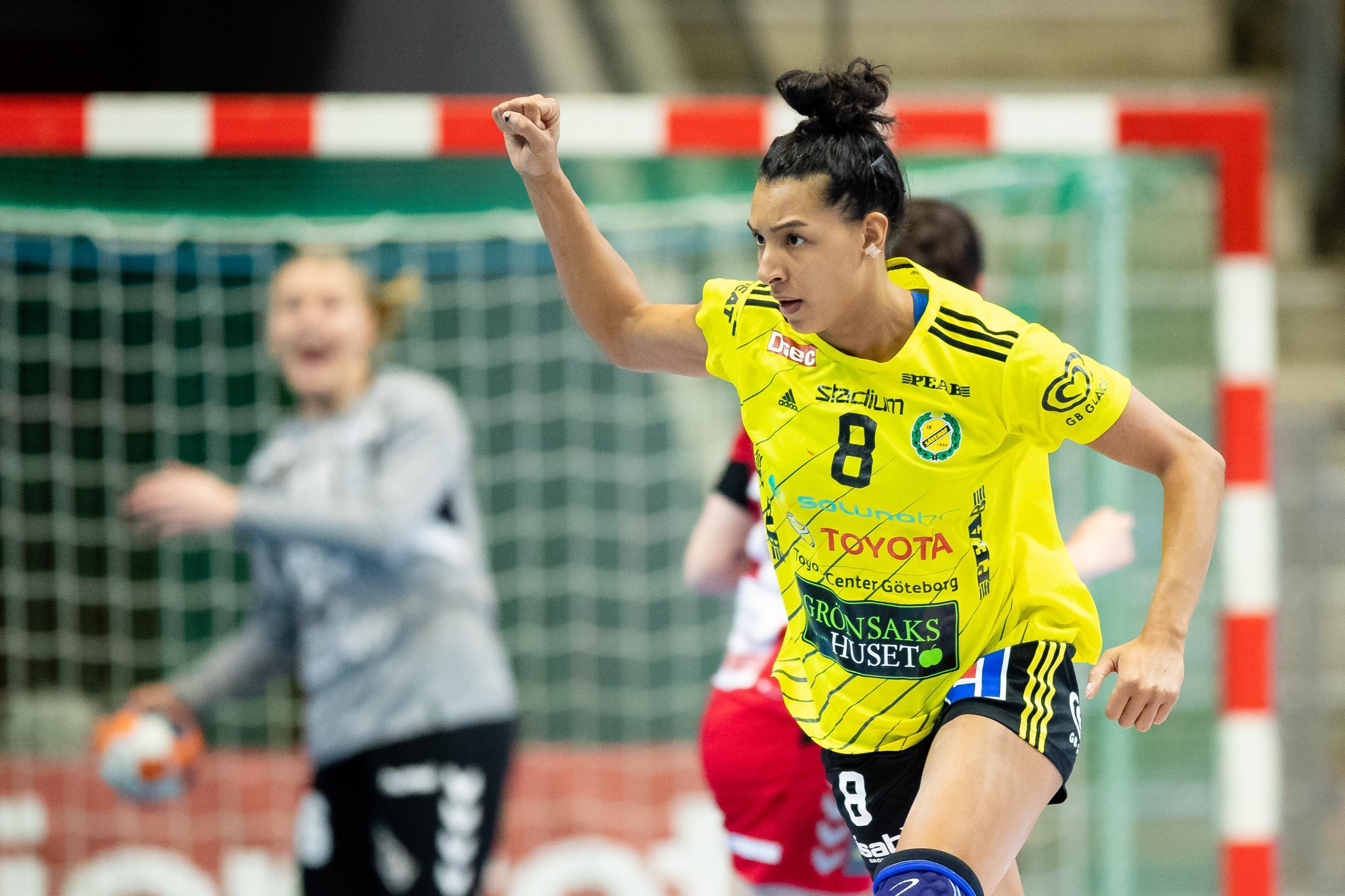 Jamina Roberts show satte Sävehof i förarsätet mot Höör
