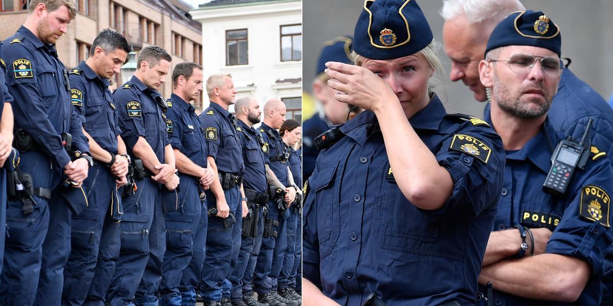Polisen Per, 43, dog i tjänsten
