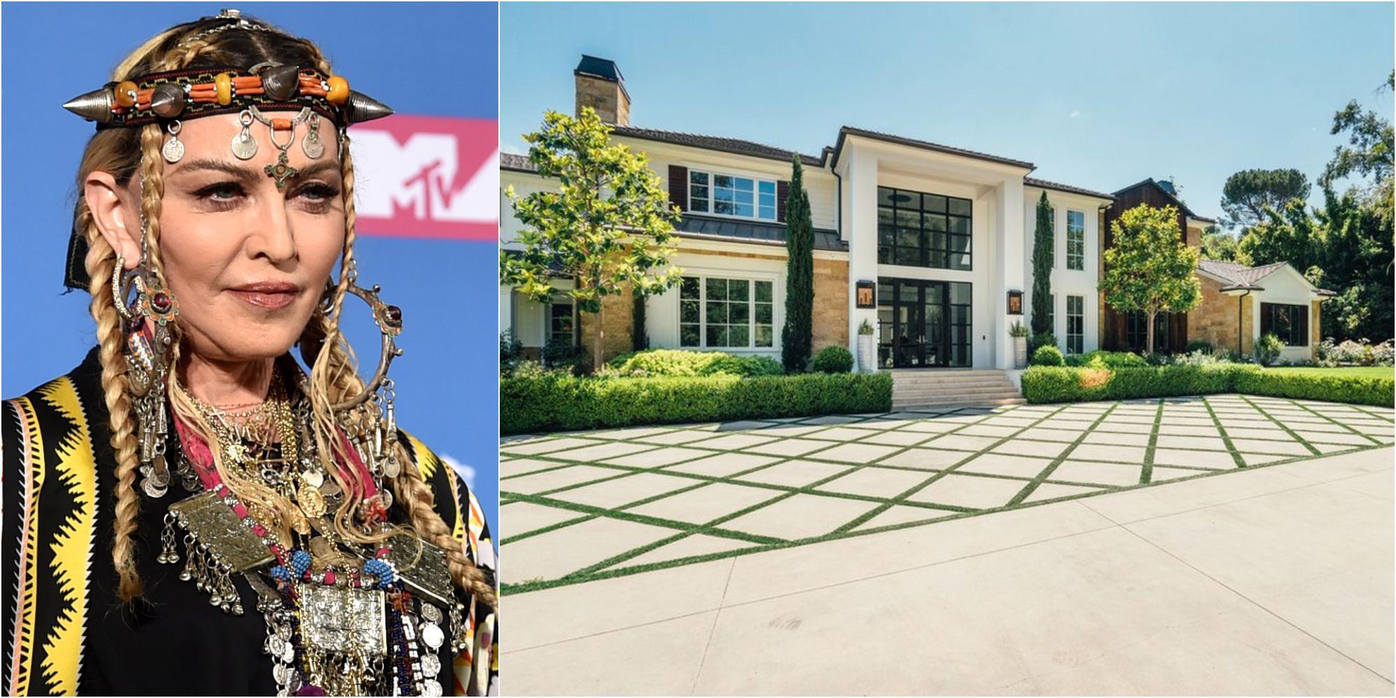 """""""The Weeknd"""" sålde sitt lyxhus till Madonna"""