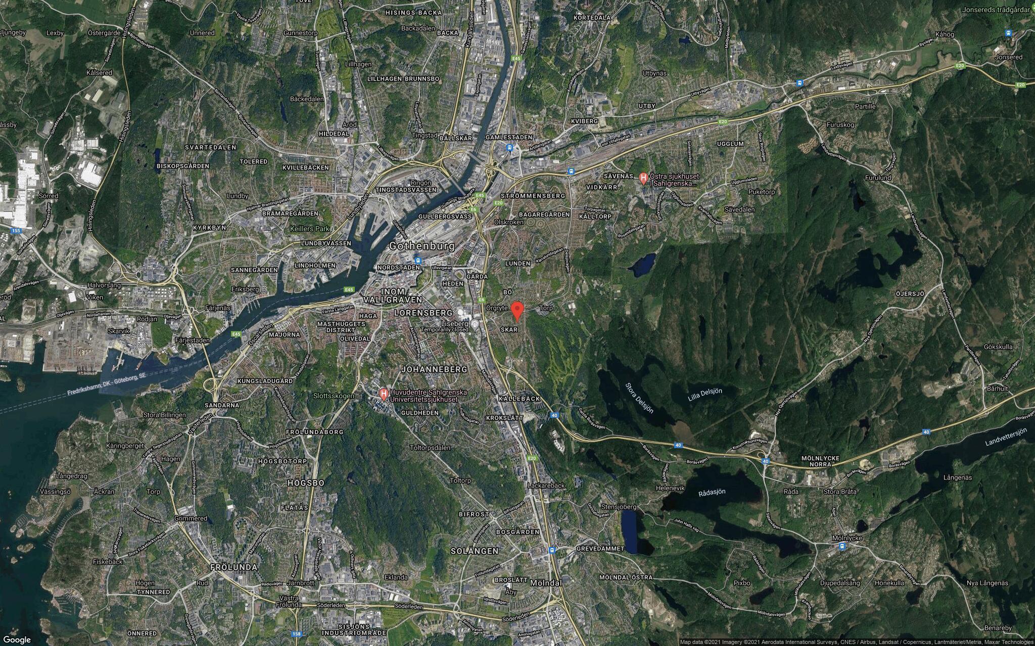 97 kvadratmeter stort radhus i Örgryte sålt