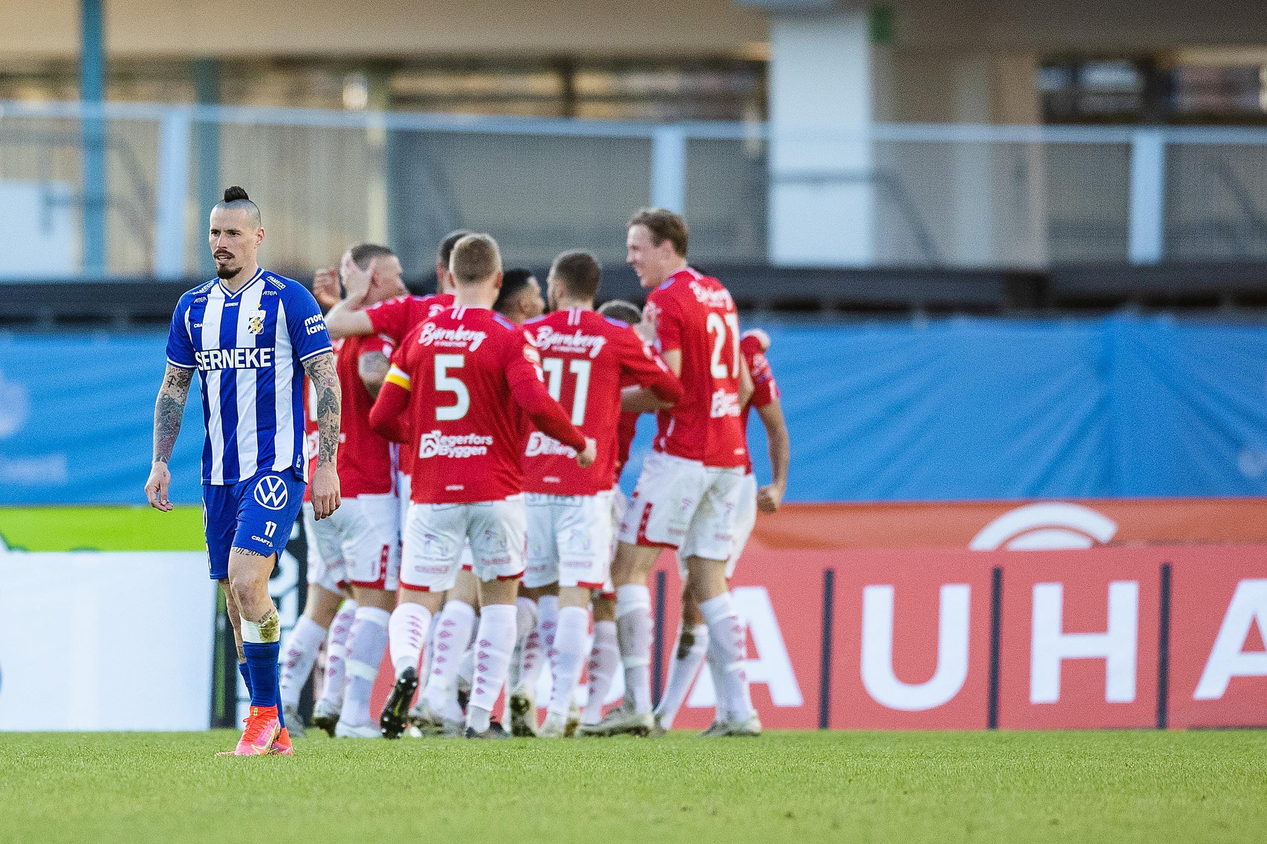 Försvarshaveri när IFK Göteborg föll mot Degerfors