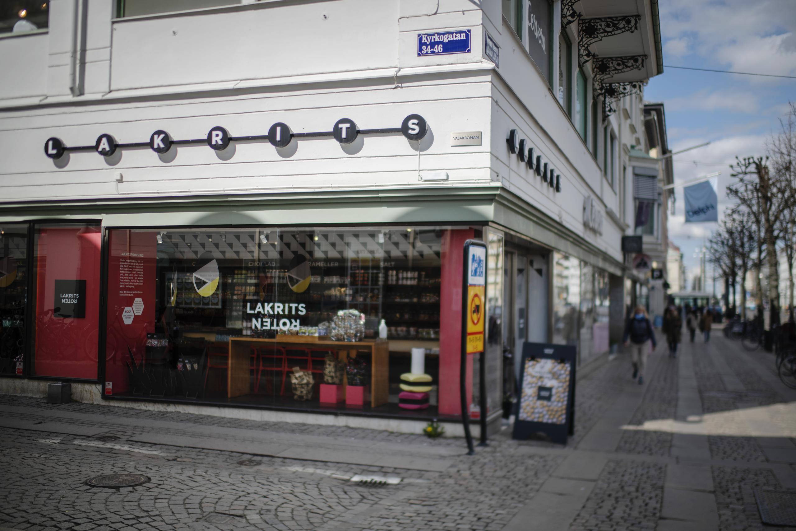 Godiskedjan i kris - har två butiker i Göteborg