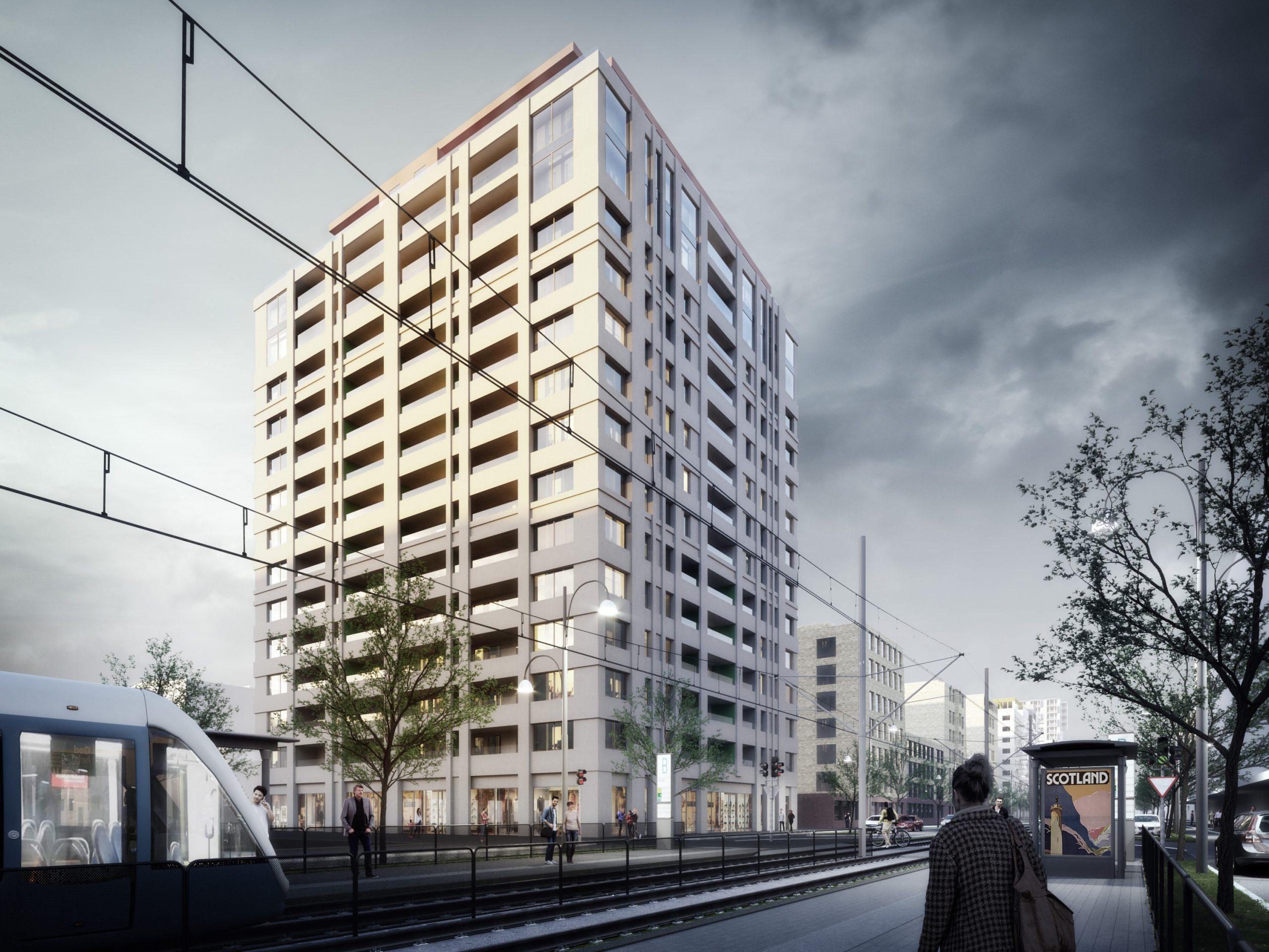 Klart med nya bostäder – 16-våningshus byggs vid kajen