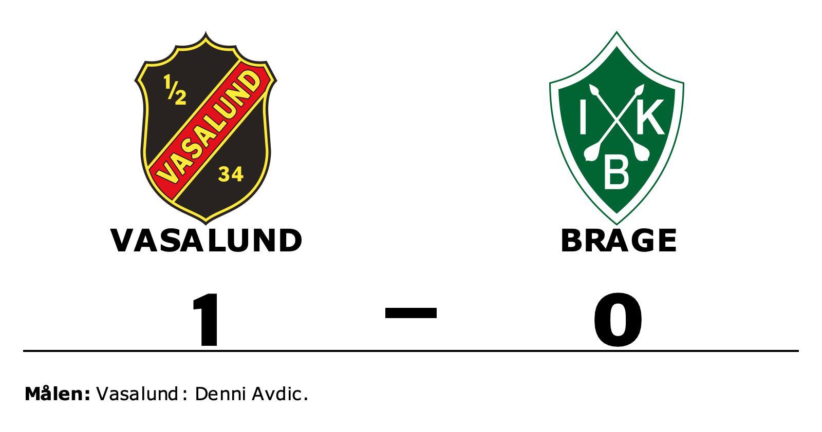 1–0-seger för Vasalund mot Brage – Denni Avdic matchhjälte