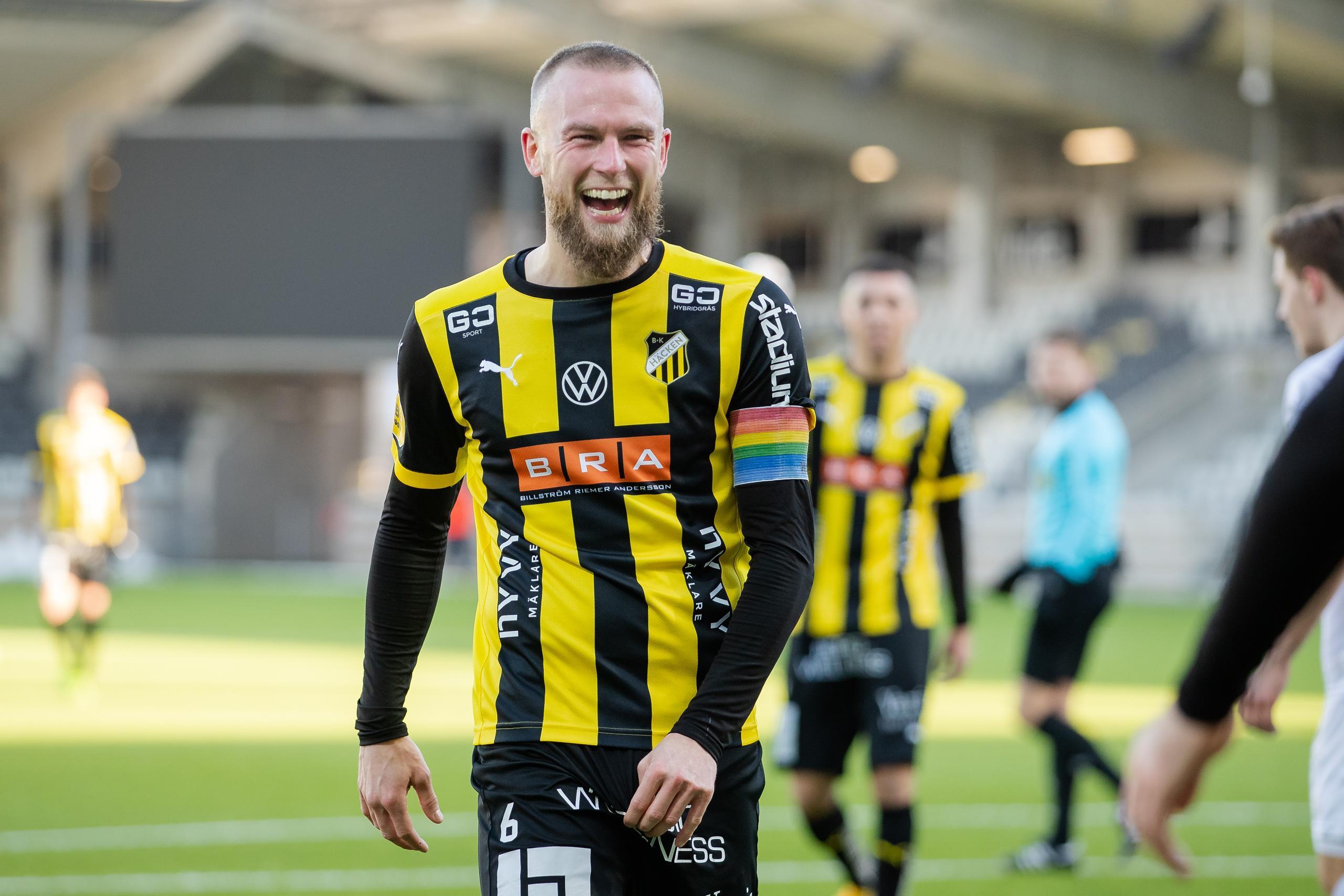 Alexander Faltsetas har hittat hem i Häcken – öppnar för framtid i klubben efter karriären