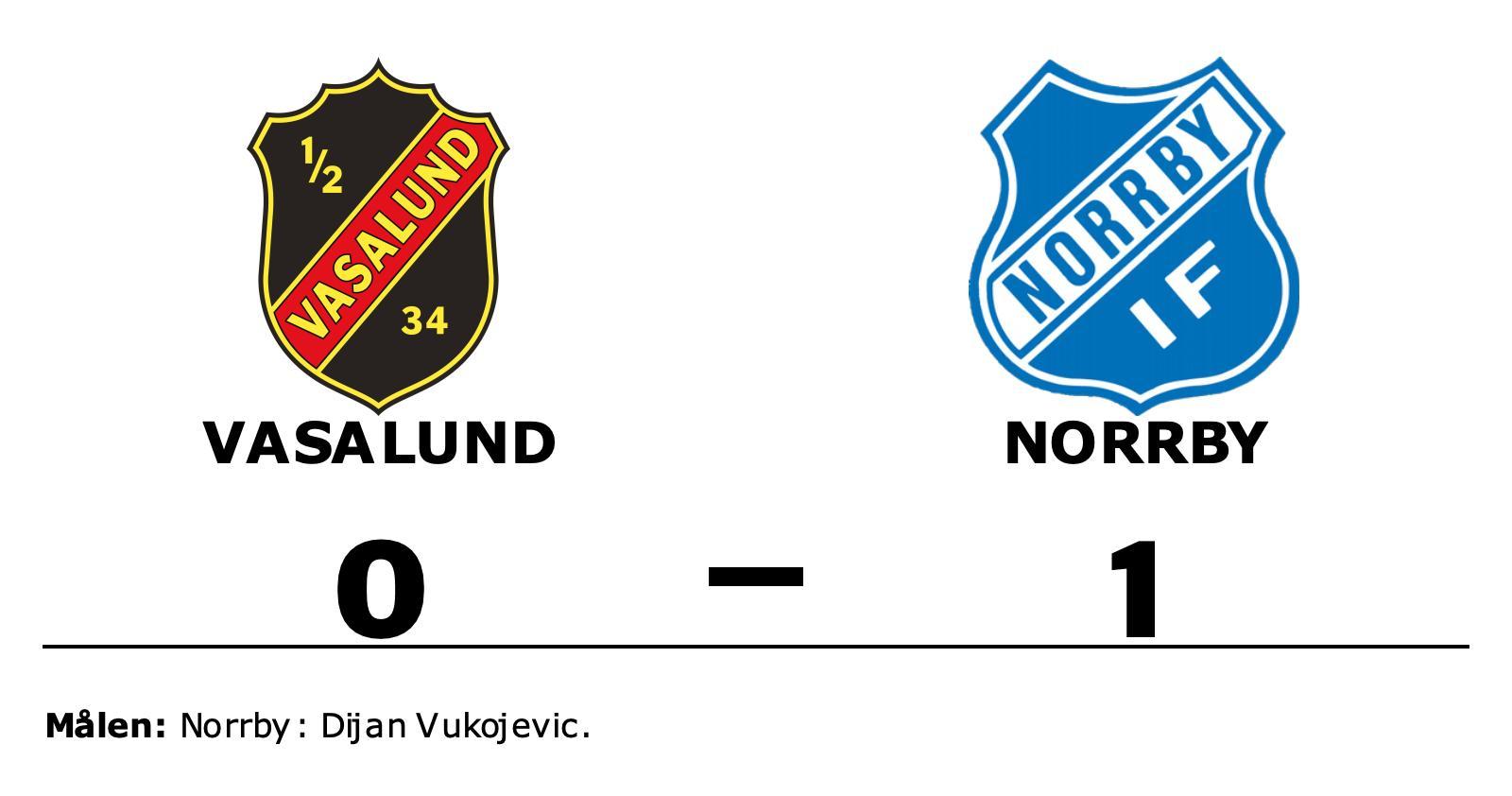 Dijan Vukojevic matchhjälte för Norrby borta mot Vasalund
