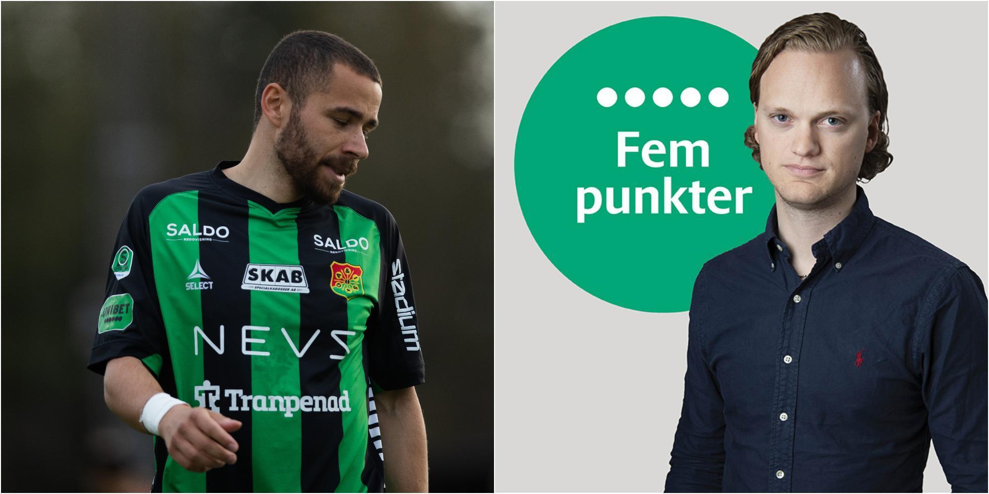 Fem punkter efter IFK Värnamo–Gais