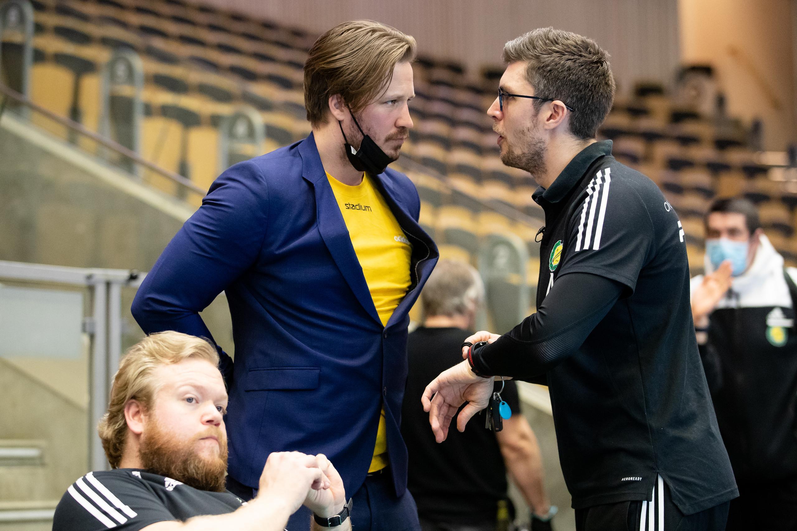 Rasmus Overby efter att Sävehof missat SM-final