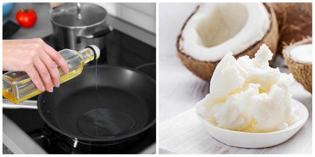 steka i olja eller smör nyttigast