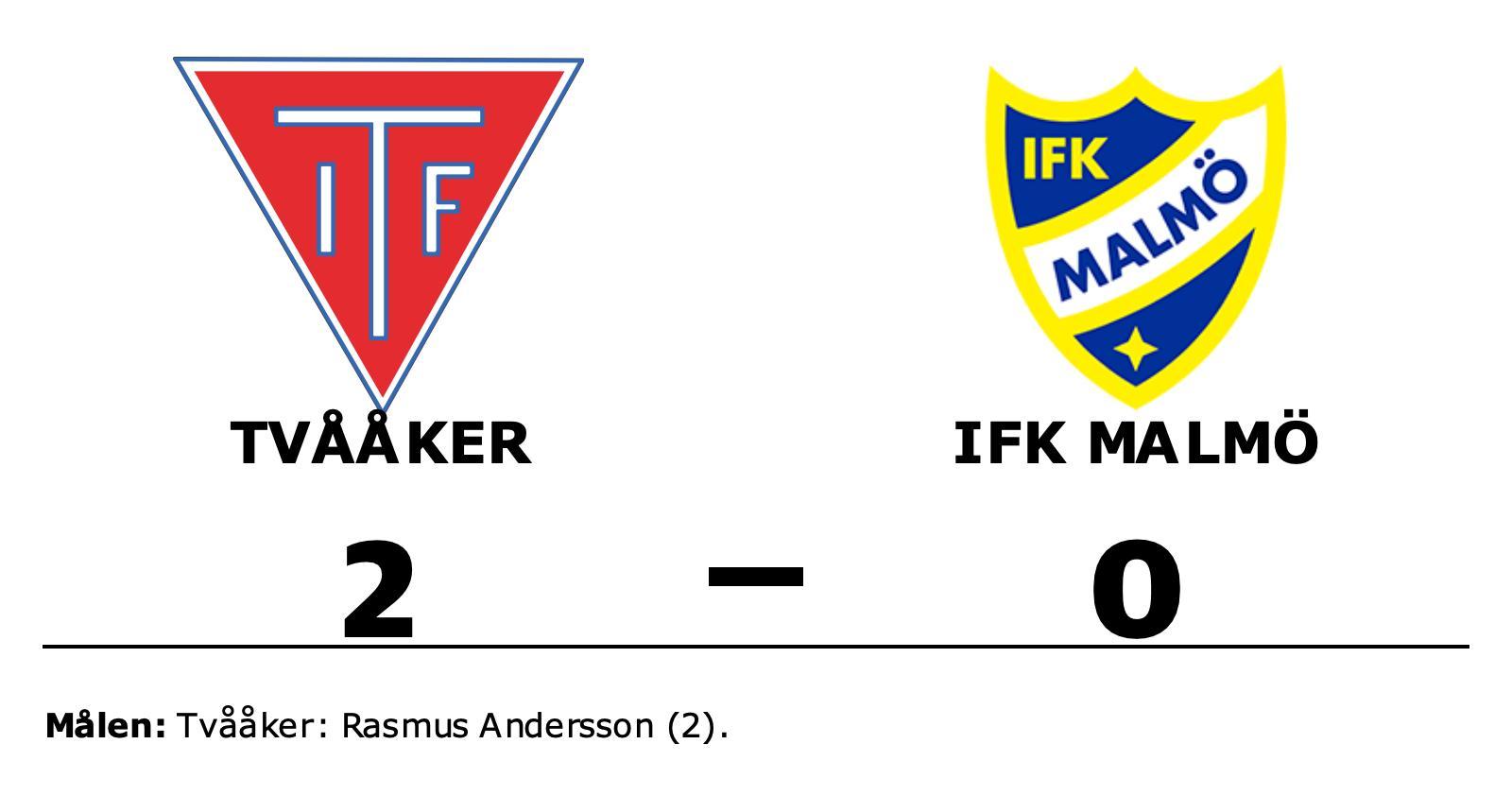 Tvååkers Rasmus Andersson sänkte IFK Malmö