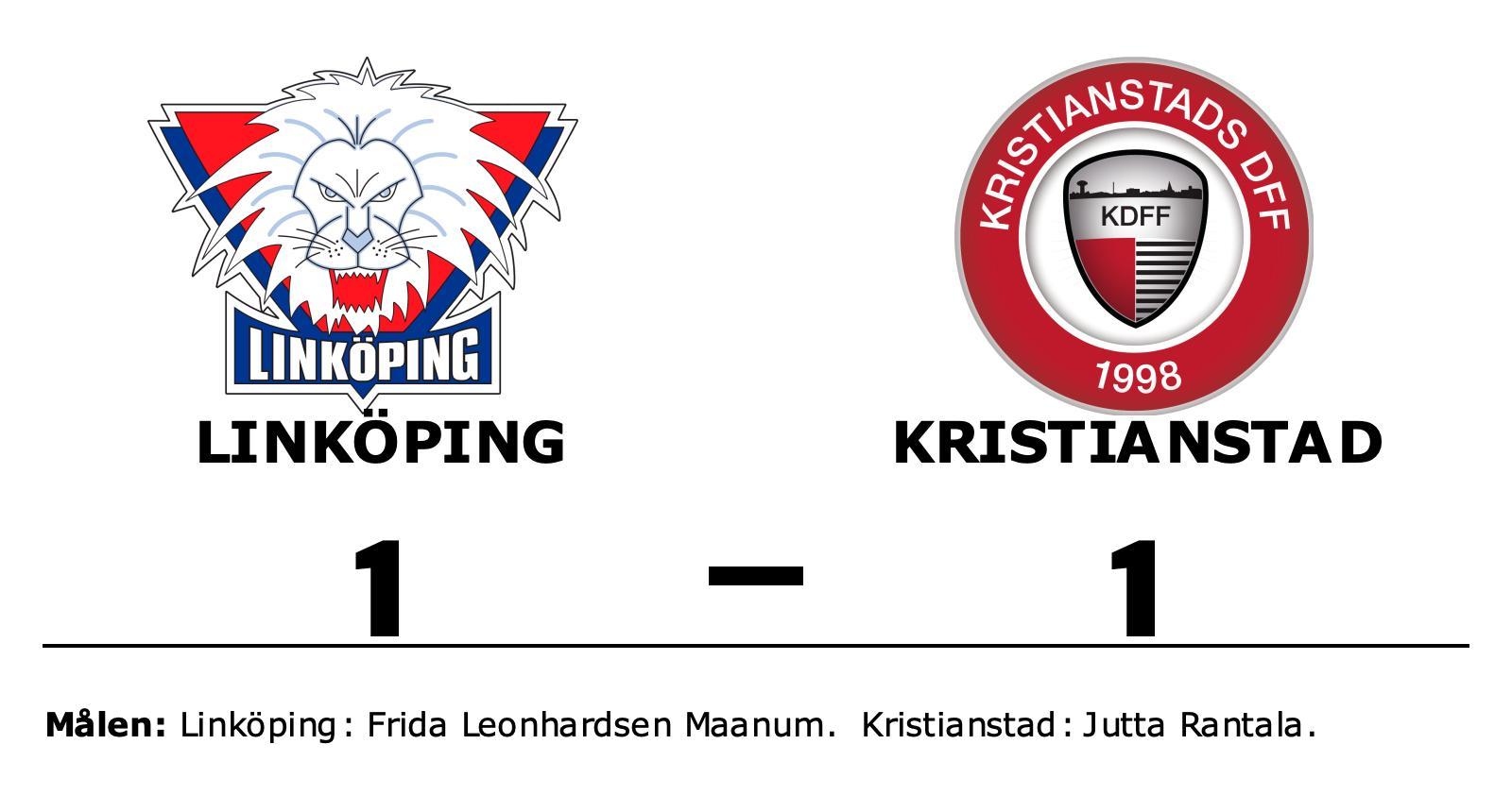 Jutta Rantala poängräddare för Kristianstad mot Linköping