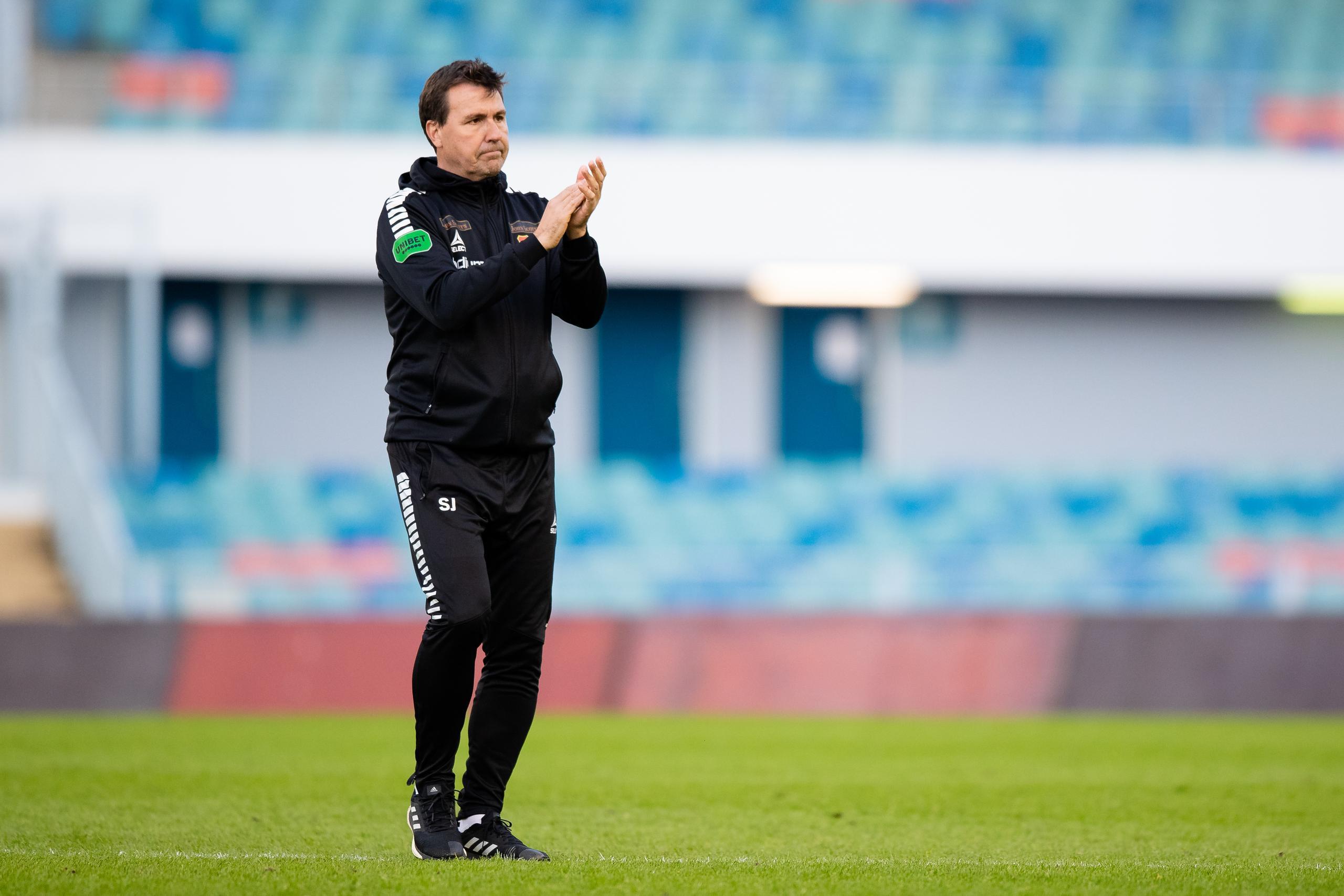 Gais Stefan Jacobsson efter tunga derbyförlusten