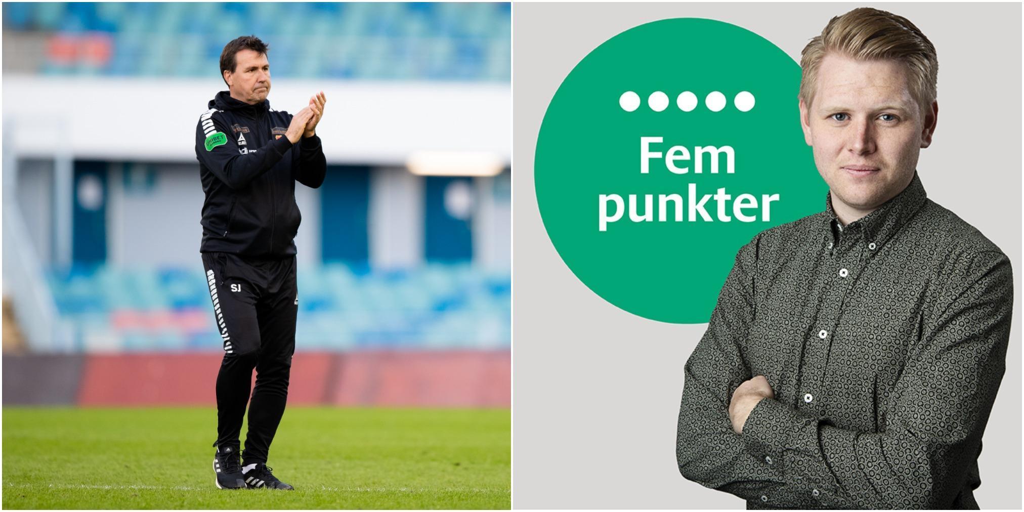 Fem punkter efter Gais – Trelleborgs FF