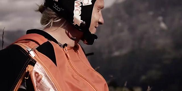 Anton Andersson om sin stora passion basejump