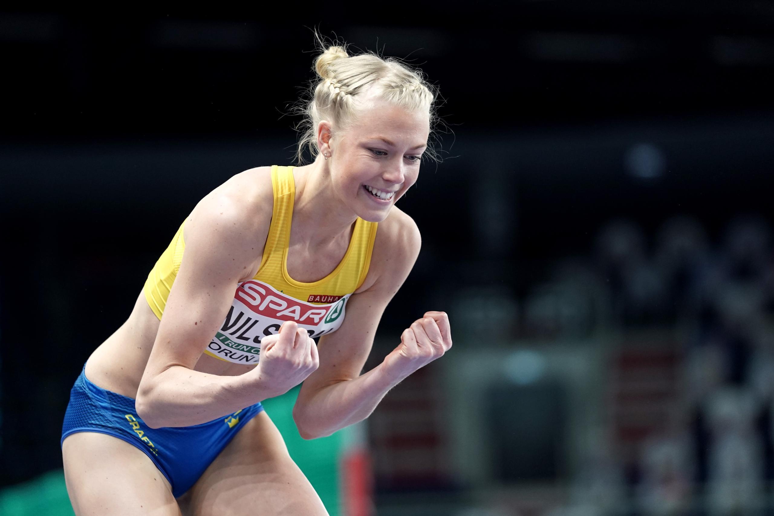 Maja Nilsson satte personbästa med hopp i världsklass