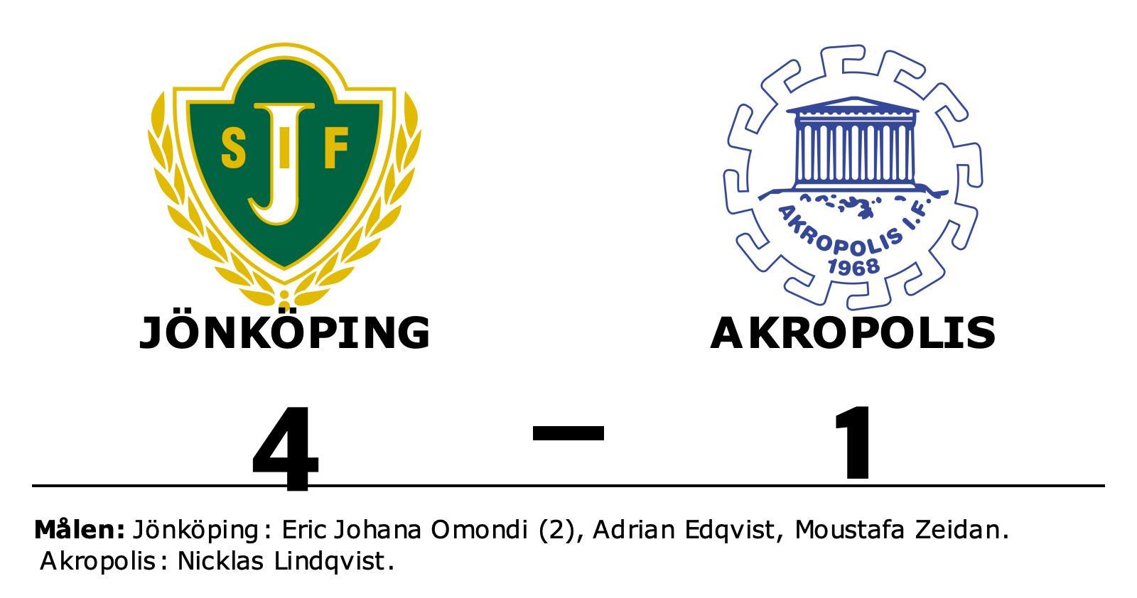 Formstarka Jönköping tog ännu en seger