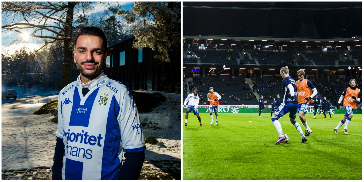 Följ IFK Göteborgs första träning under Poya Asbaghi