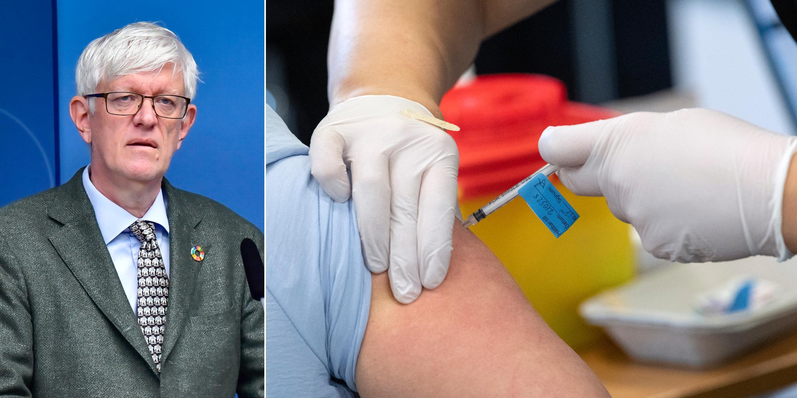 Sverige lånar ut vaccindoser till Cypern och Island