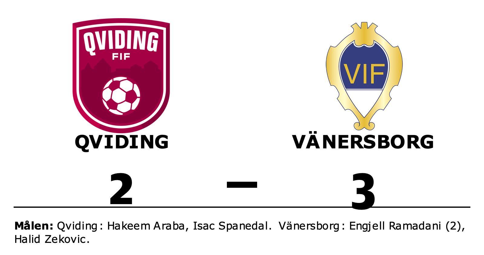 Formstarka Vänersborg tog ännu en seger