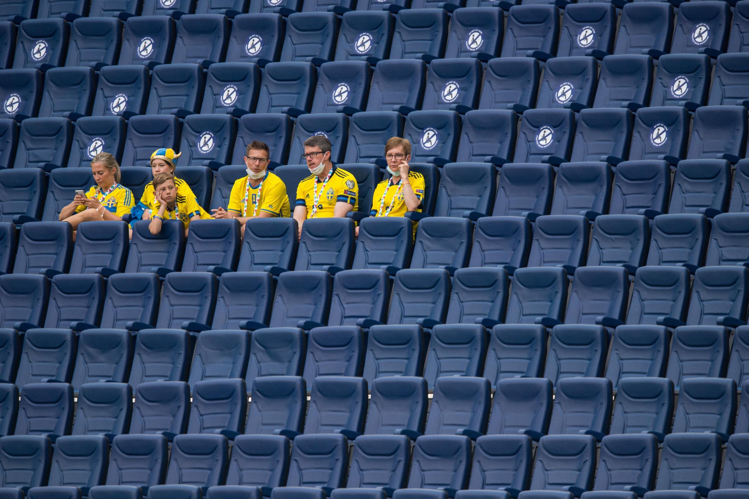 Så få svenska fans väntas se åttondelsfinalen på plats