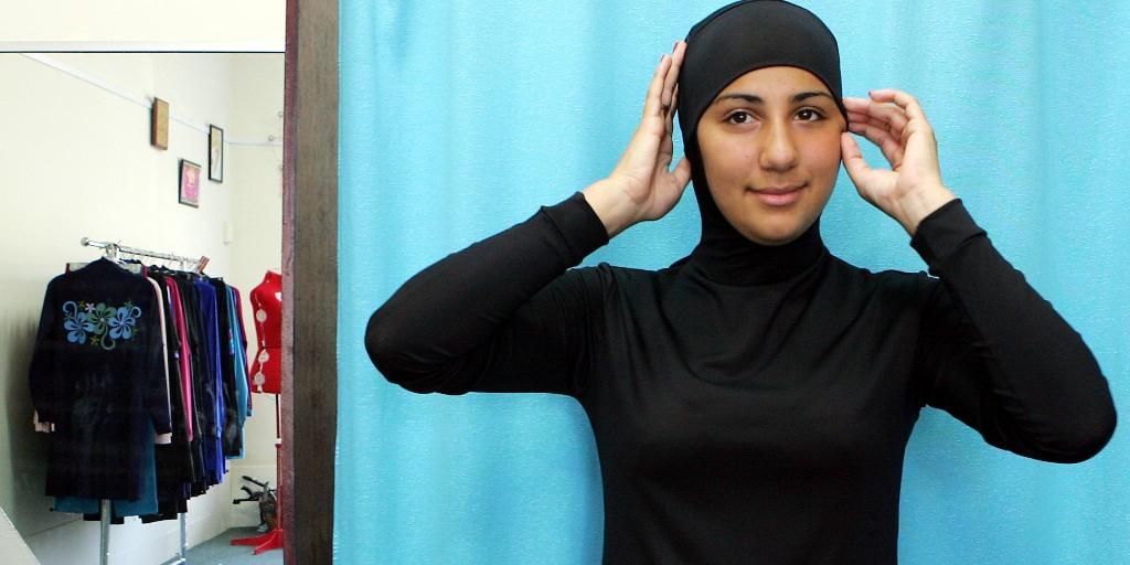 baddräkt för muslimer