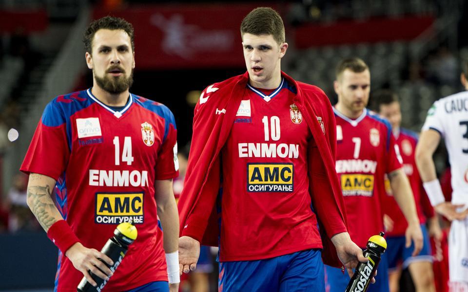 frankrike serbien handboll