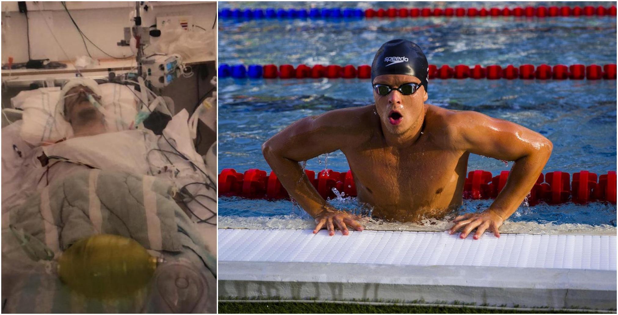 Efter att ha legat i respirator – Victor Johansson uttagen till OS