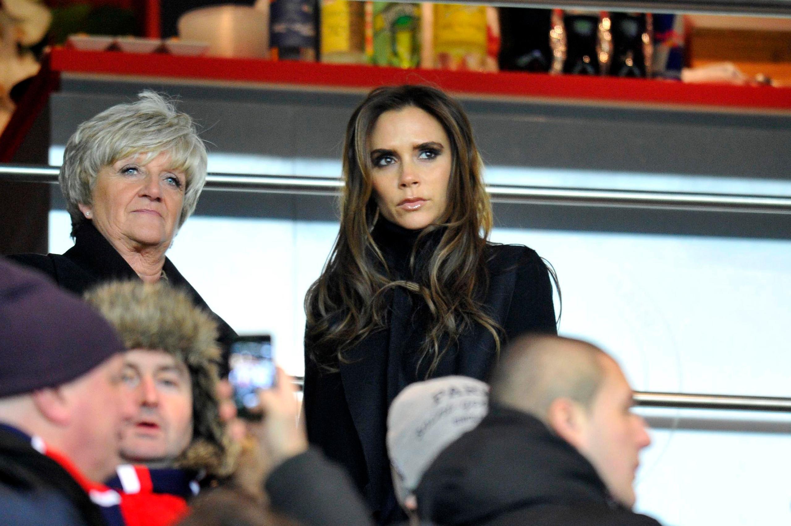 """Victoria Beckham stoppade """"Svennis"""" från att värva David Beckham"""