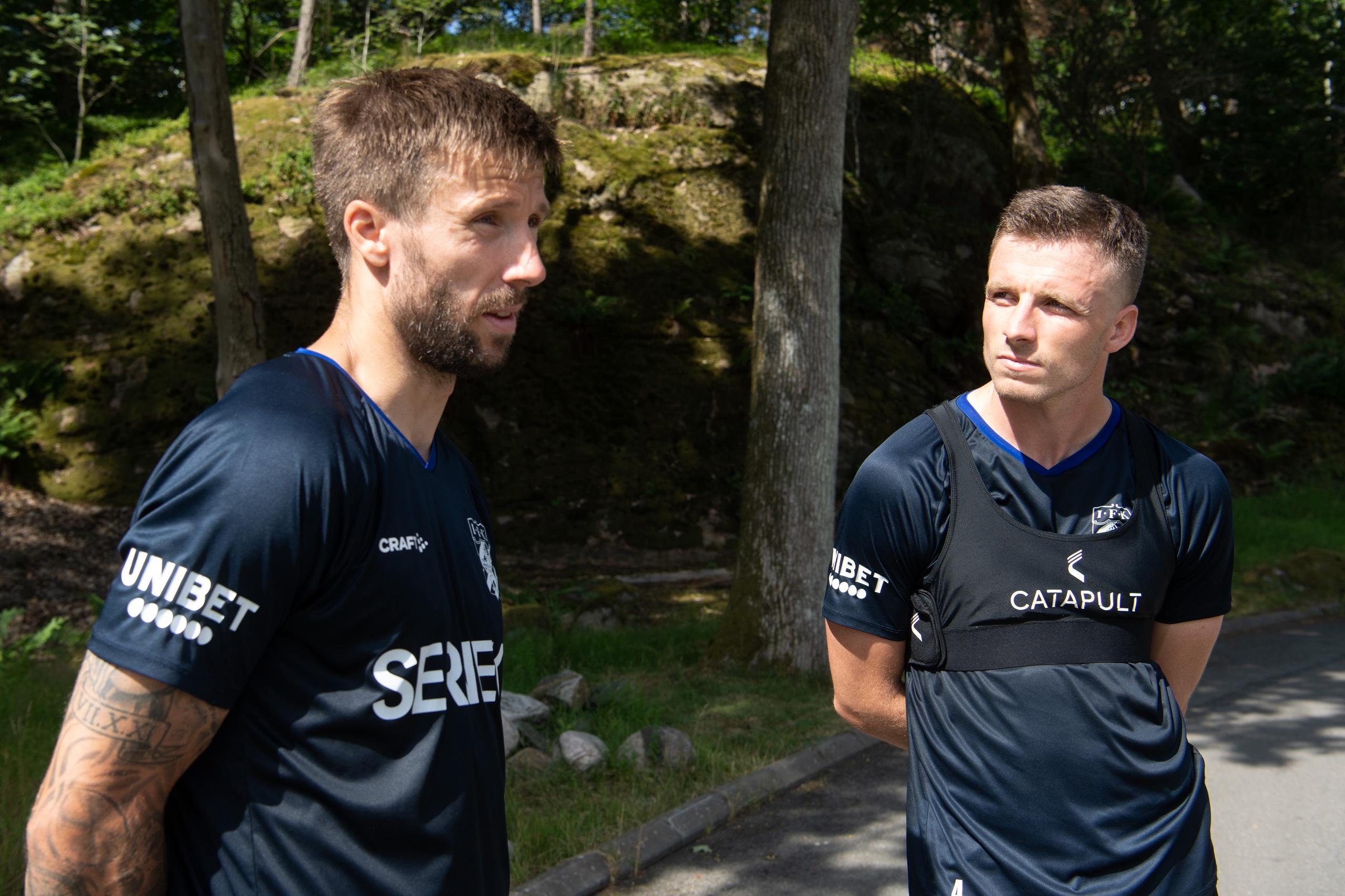 IFK Göteborgs mittbackspar tillsammans igen