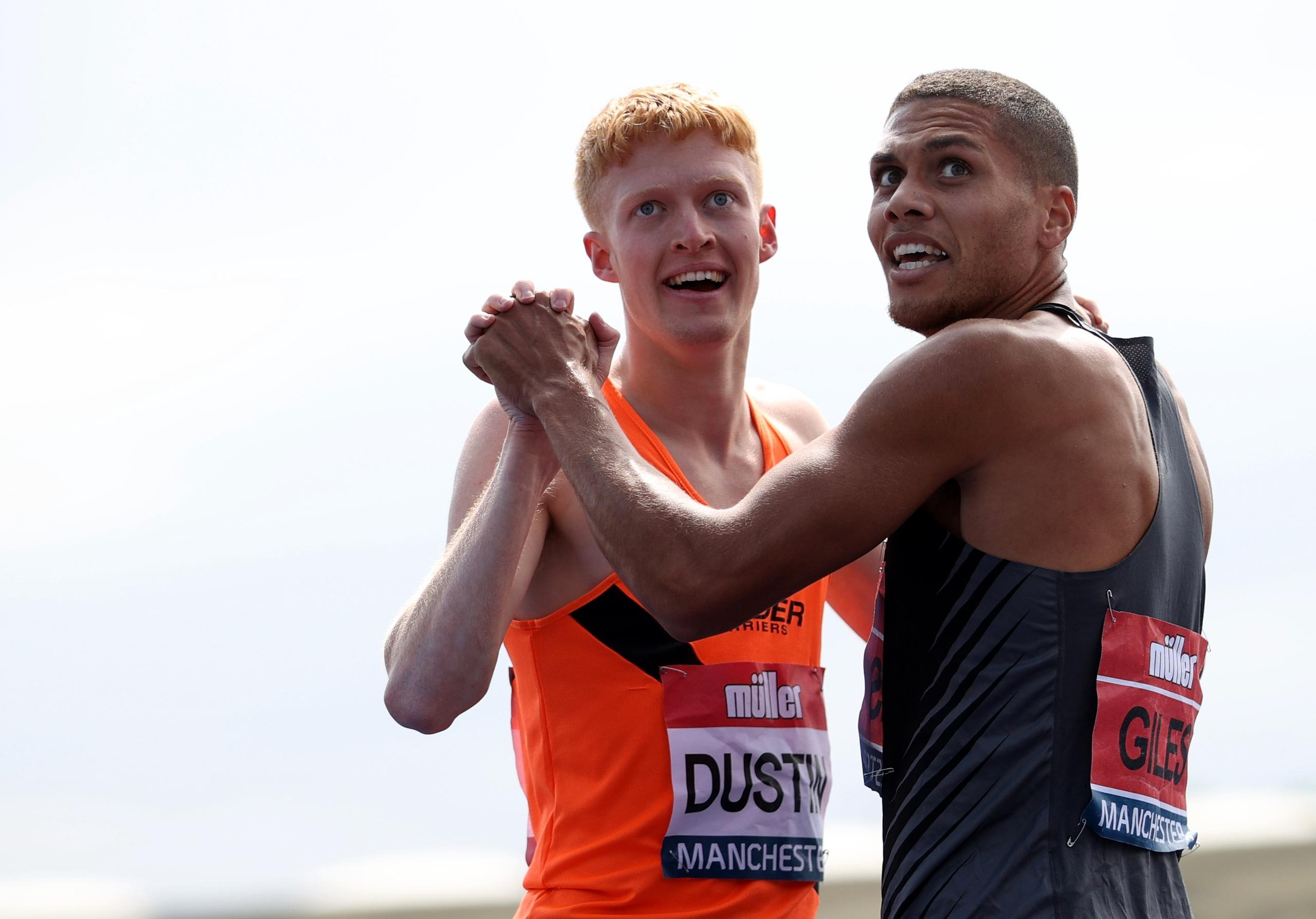 Brittiska OS-hoppet frias efter att positivt test