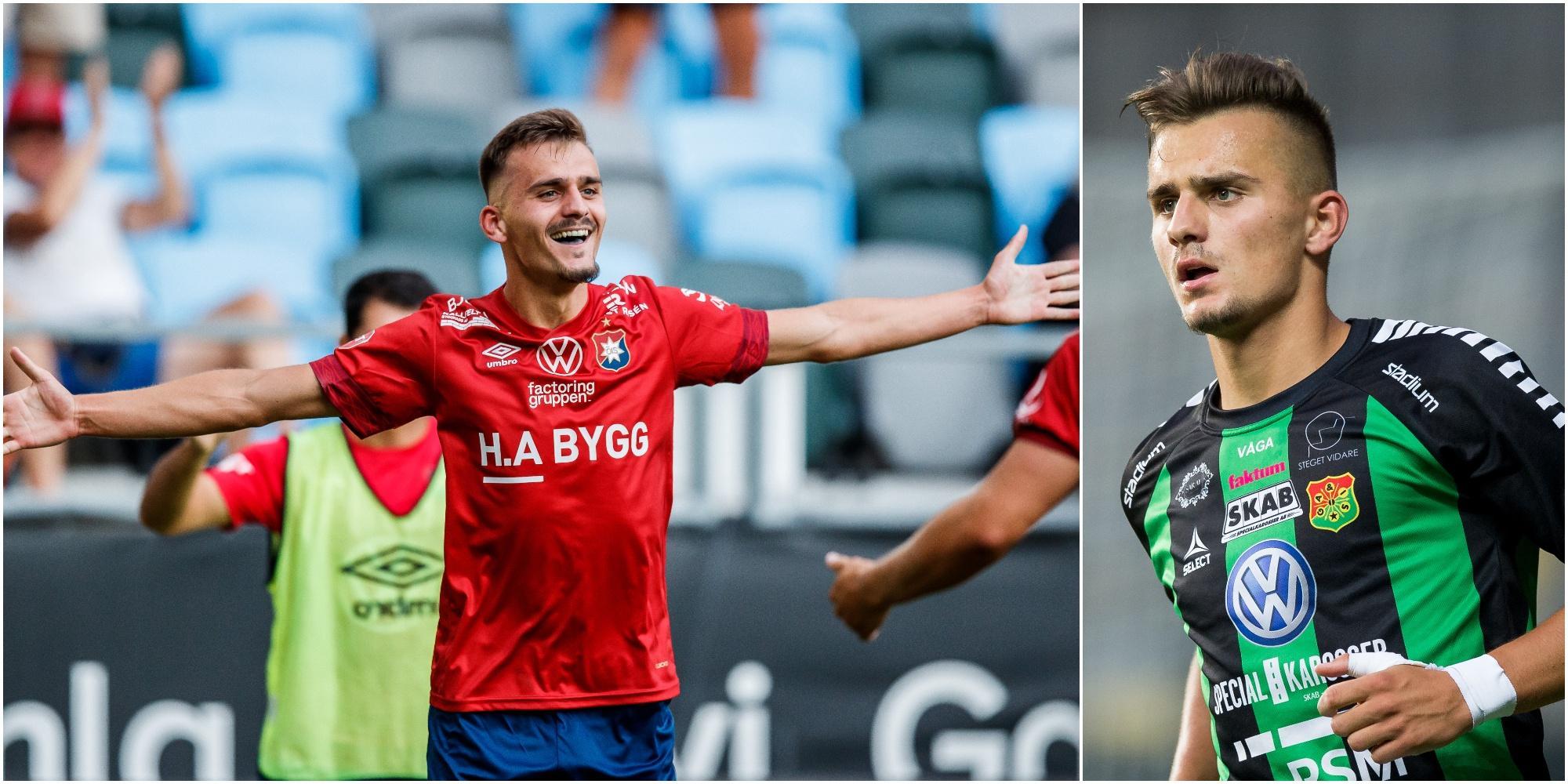 Ajdin Zeljkovic lovar mål och seger mot Gais
