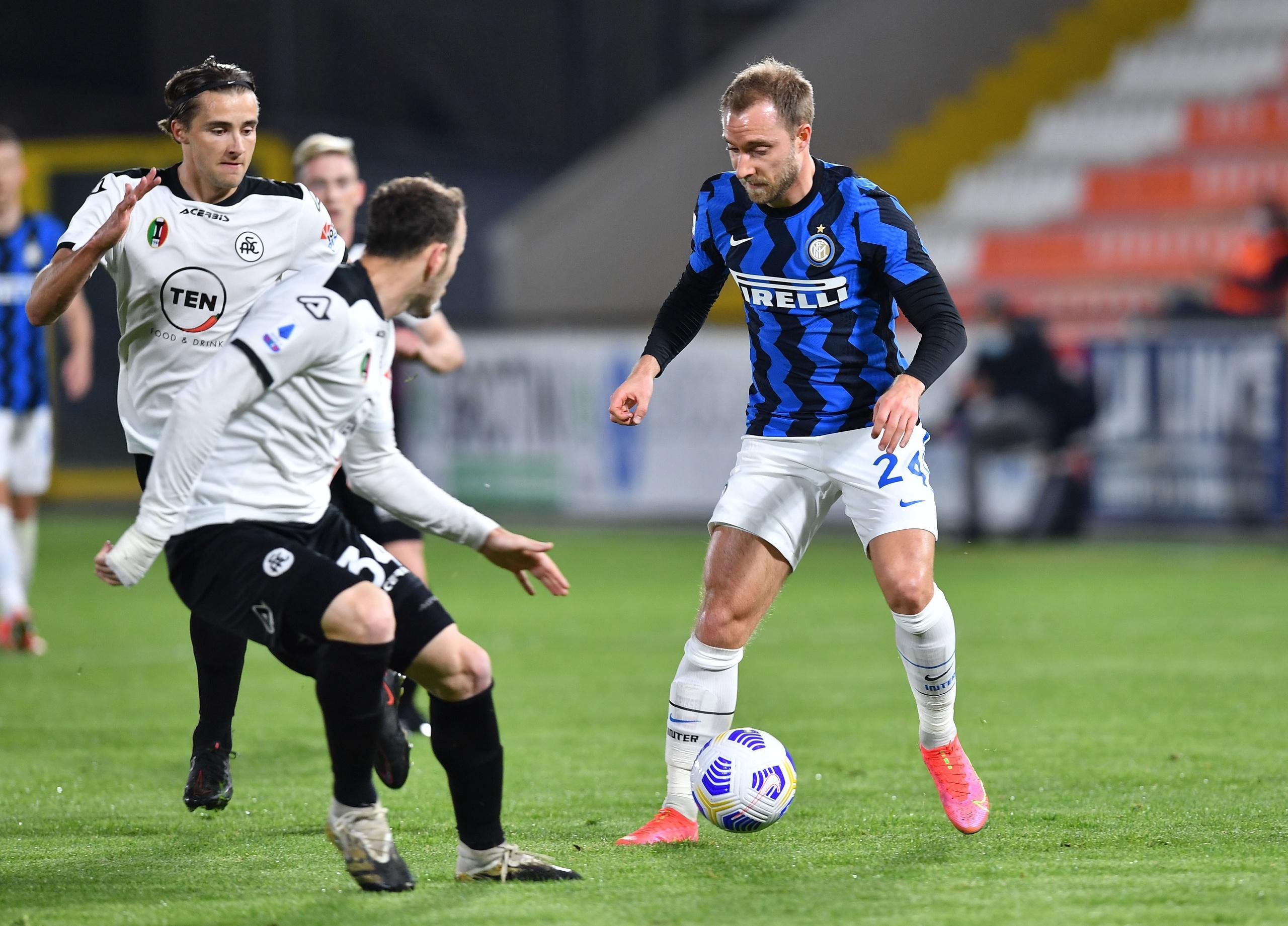 Christian Eriksen kan stoppas från fortsatt spel i Serie A