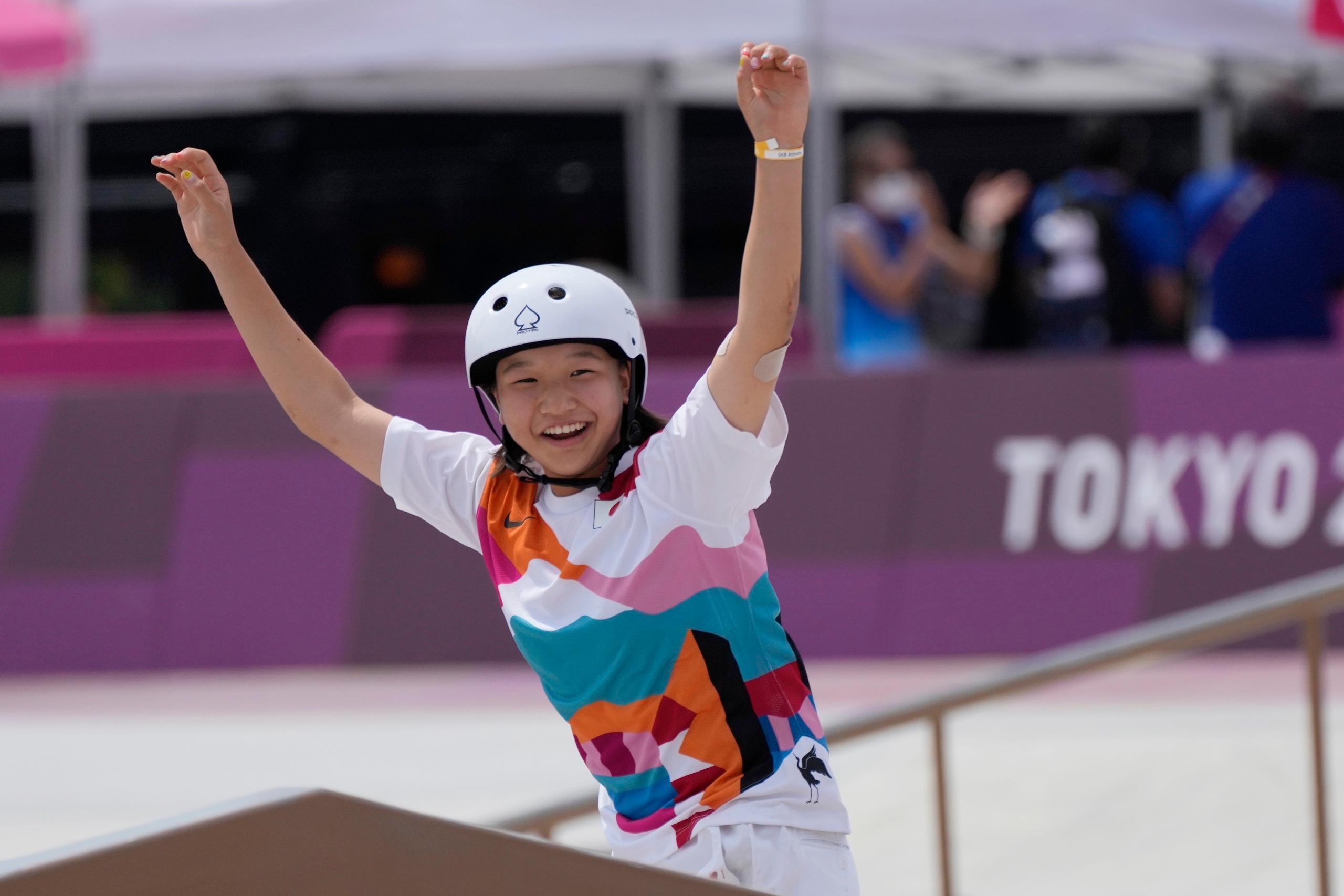 Tonåringarna i OS tog över pallen