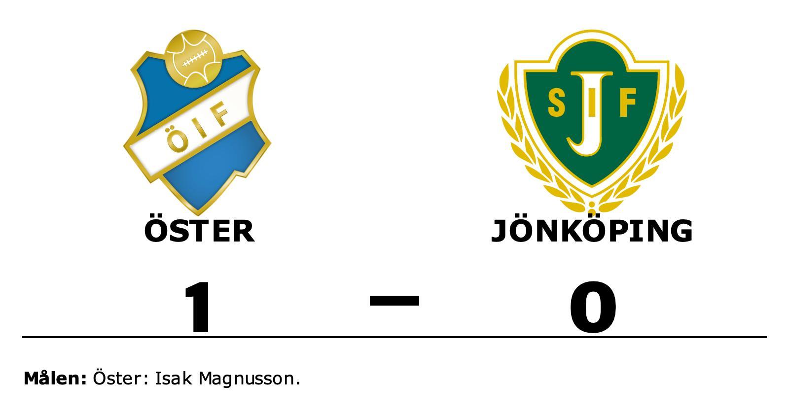 Isak Magnusson matchhjälte för Öster mot Jönköping