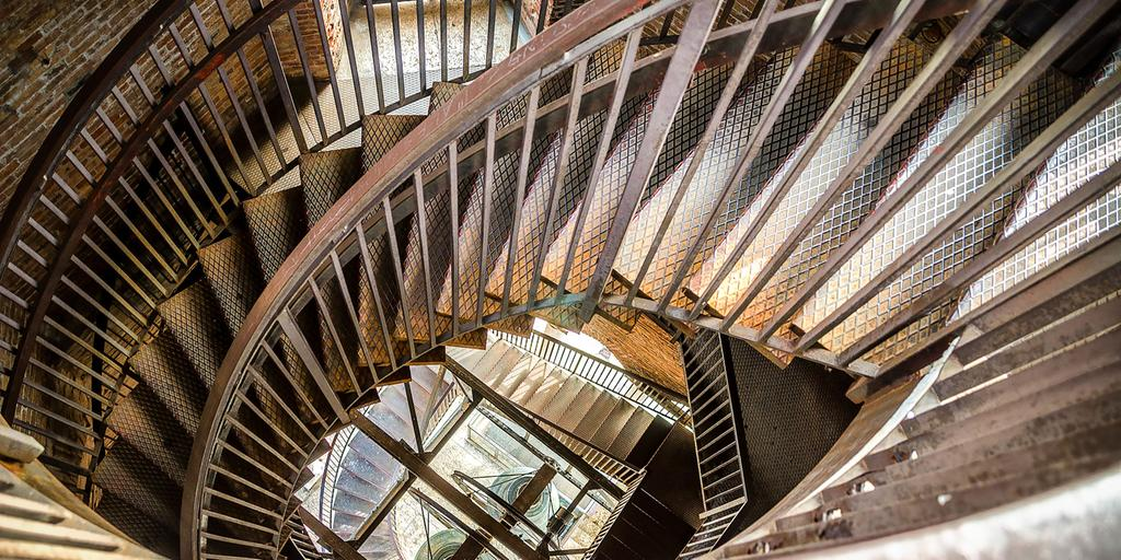 spiral+staircase+metal+bell+tower