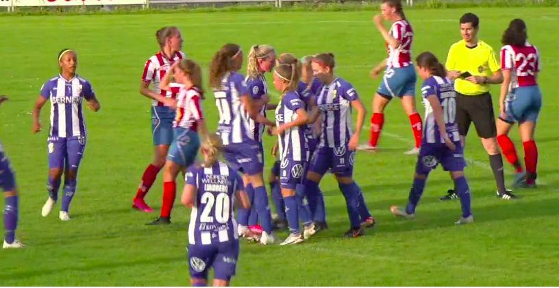 Se mötet mellan Ytterby IS och IFK Göteborg i efterhand