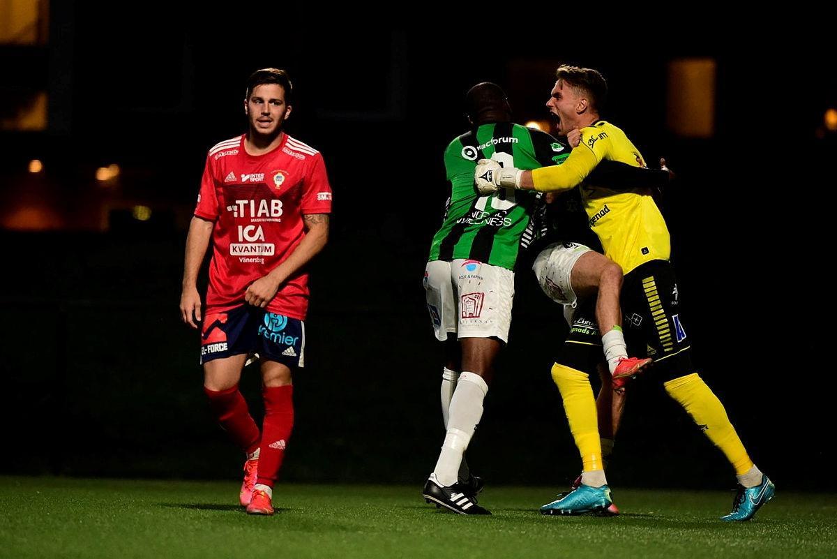 Efter straffdrama mot Vänersborg– Gais vidare i cupen