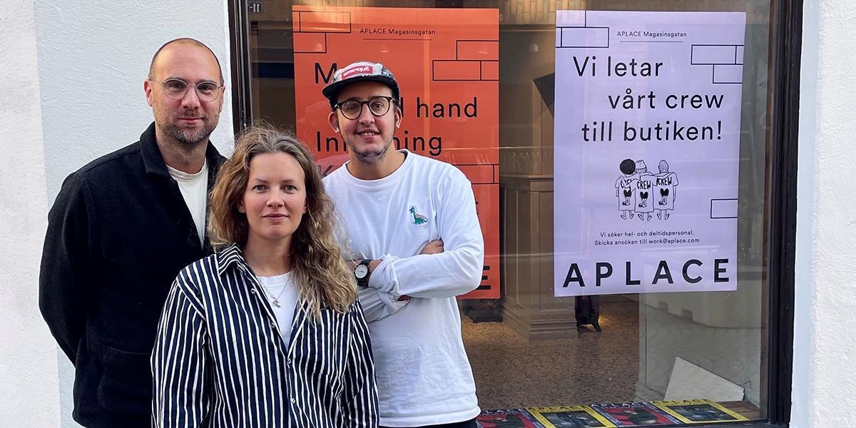 Trendiga Aplace öppnar butik på Magasinsgatan
